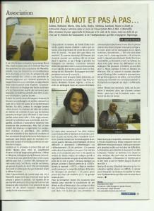 Article magazine AMINA janvier2014(1)