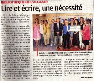 article journal La Provence juin 2013